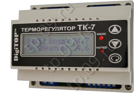 Терморегулятор ТК-7: инструкция по эксплуатации